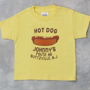 ee82829b0 Hot Dog Johnny's Yellow Adult T-shirt